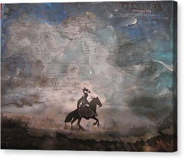 Alexander Canvas Print