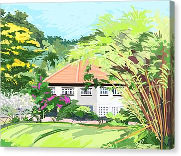 Alexandra Park Singapore Canvas Print by Plum Ovelgonne