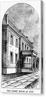Alexandria, Virginia Canvas Print by Granger