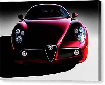 Alfa Romeo 8c Canvas Print by Douglas Pittman