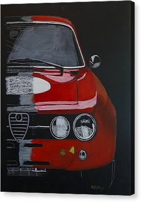 Alfa Romeo Gtv  Canvas Print