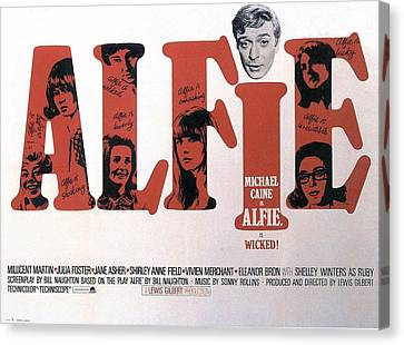 Alfie  Canvas Print by Movie Poster Prints