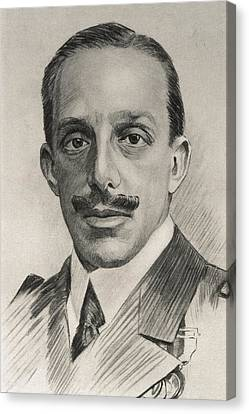 Alfonso Xiii 1886-1941. King Of Spain Canvas Print