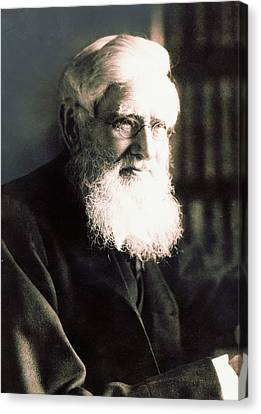 Nature Study Canvas Print - Alfred Russel Wallace by American Philosophical Society