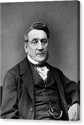Alfred Taylor Canvas Print by National Library Of Medicine