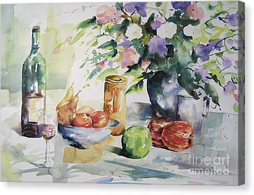 Alfresco Canvas Print