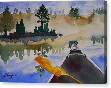 Algonquin Provincial Park Ontario Canada  Canvas Print by Warren Thompson