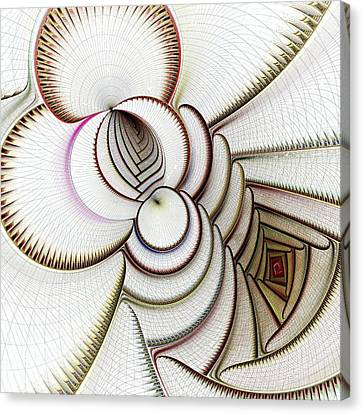 Algorithmic Art Canvas Print by Anastasiya Malakhova
