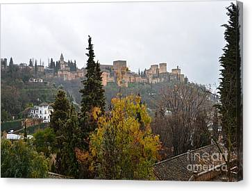 Alhambra Canvas Print - Alhambra From Sacromonte by RicardMN Photography