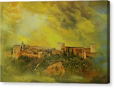 Alhambra Granada  Canvas Print by Catf