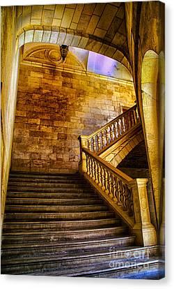 Alhambra Stairway Canvas Print by Rick Bragan
