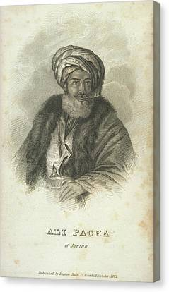 Ali Pacha Of Janina Canvas Print