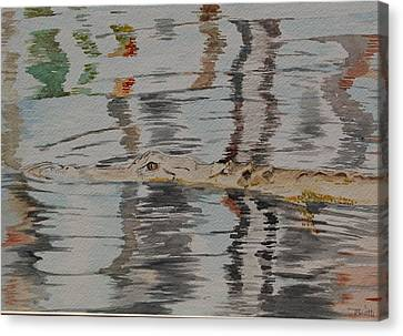 Ali The Alligator Canvas Print