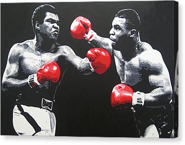 Ali V Tyson Canvas Print
