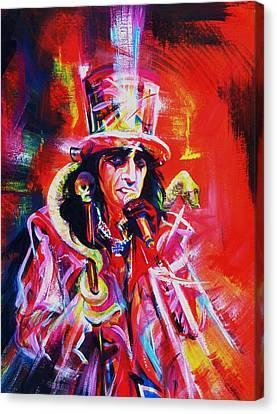 Alice Cooper. The Legend Canvas Print