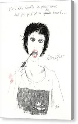 Alice Glass Canvas Print