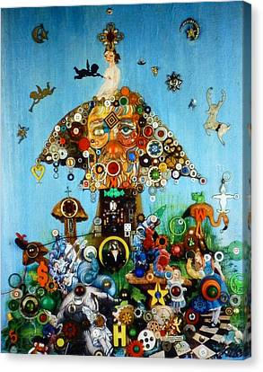 Alice In Blunderland Canvas Print