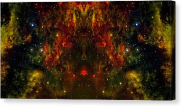 Alien Birth Canvas Print by Jennifer Rondinelli Reilly - Fine Art Photography