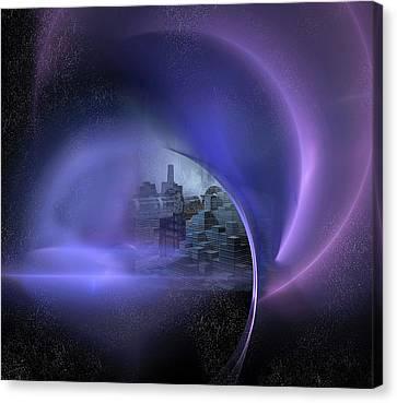 Alien City Canvas Print by Carol & Mike Werner