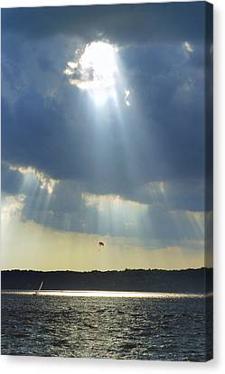Alien - Lake Geneva Wisconsin Canvas Print by Bruce Thompson