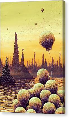 Alien Life Forms Canvas Print