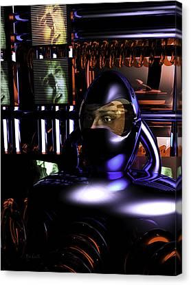 Alien Mind Control Canvas Print by Bob Orsillo