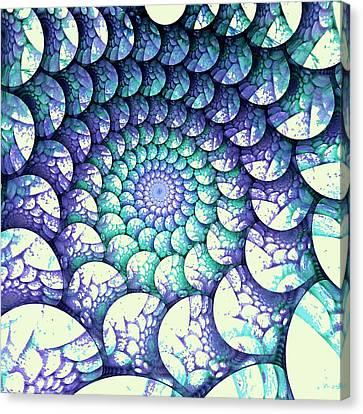 Alien Nest Canvas Print by Anastasiya Malakhova