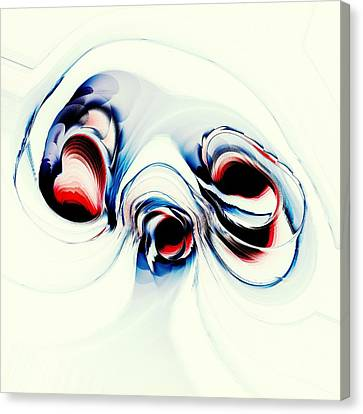 Alien Puppy Canvas Print by Anastasiya Malakhova