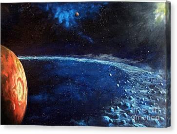 Alien Storm Canvas Print by Murphy Elliott
