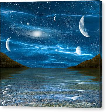 Alien Waterscape Canvas Print by Brian Wallace