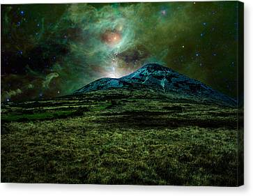 Alien World Canvas Print by Semmick Photo