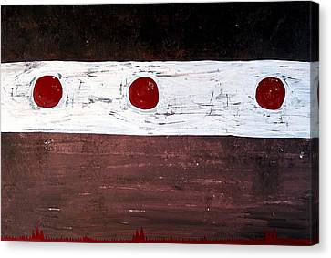 Alignment Original Painting Canvas Print by Sol Luckman