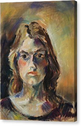 Aline Canvas Print by Barbara Pommerenke