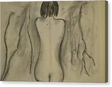 Aline Canvas Print by Daniele Fedi