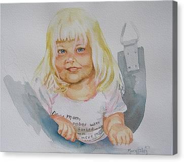 Alisha And Swing Canvas Print