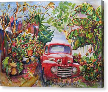 Aliso Circle '50 Canvas Print