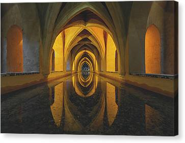 Dungeon Canvas Print - Aljibe by Javier Puy?