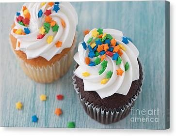 All About The Sprinkles Canvas Print by Kay Pickens