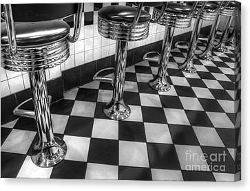 All American Diner Canvas Print by Bob Christopher