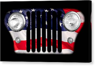 Grill Canvas Print - All-american by Luke Moore