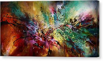 'all At Once' Canvas Print by Michael Lang
