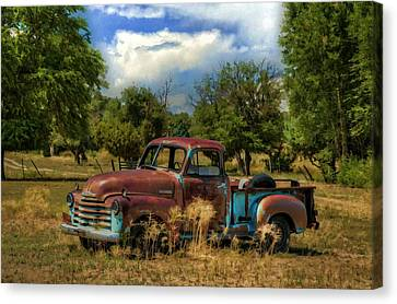 All By Myself Canvas Print by Ken Smith
