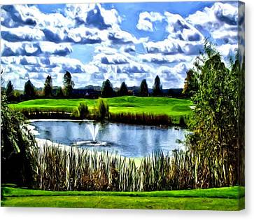 Canvas Print featuring the photograph All Carry by Dennis Lundell