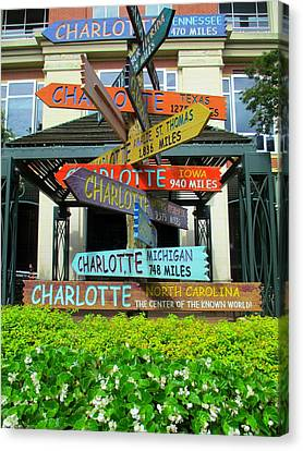 All Charlottes Canvas Print by Randall Weidner