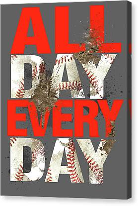 All Day Every Day Canvas Print by Jim Baldwin
