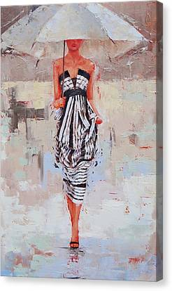 All Dressed Up Canvas Print by Laura Lee Zanghetti