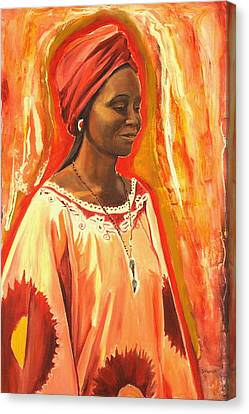 All Dressed Up Canvas Print by Sheila Diemert