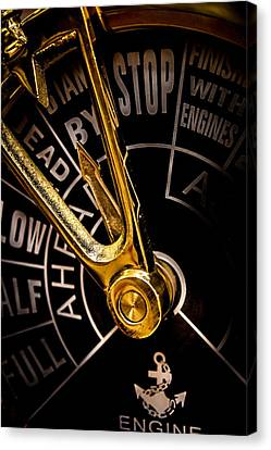 All Engines Stand By Canvas Print by Chuck De La Rosa