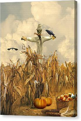 All Hallows' Eve Canvas Print by IM Spadecaller