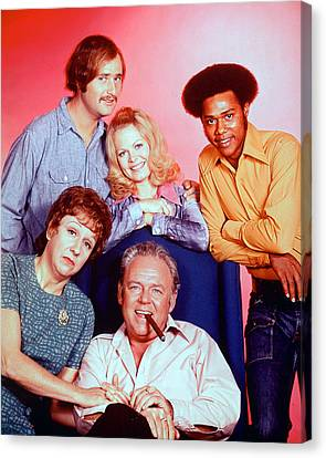 All In The Family  Canvas Print by Silver Screen